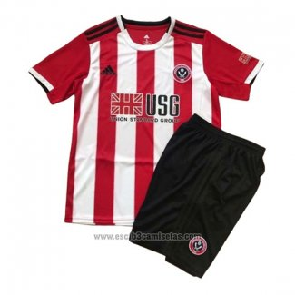 Camiseta Sheffield United Primera Nino 2019 2020