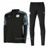 Chandal del Manchester City 2019 2020 Negro