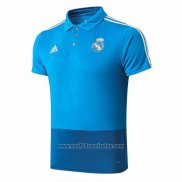 Camiseta Polo del Real Madrid 2019 2020 Azul