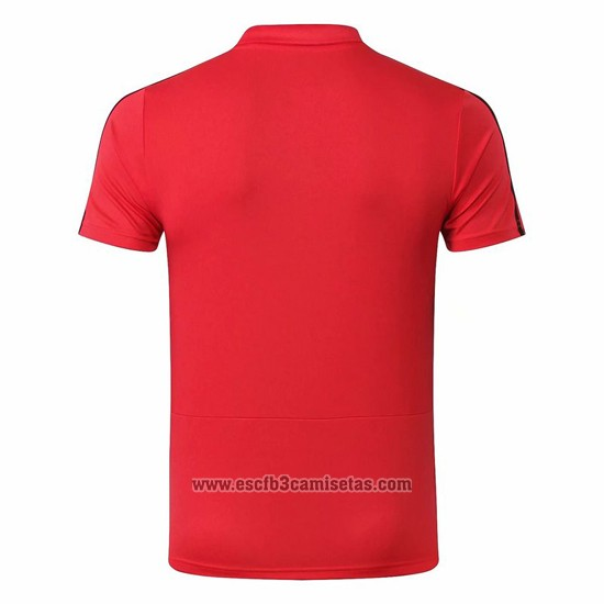 Camiseta Polo del Real Madrid 2019 2020 Rojo
