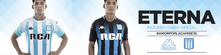 camisetas Racing Club baratas 2020